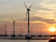 Tra Vinh: Over 144 million USD invested in wind power plant