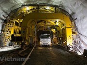 Cu Mong tunnel to be completed by year-end