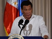 Philippine President sacks military officers over alleged corruption