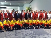Vietnamese delegation receives warm welcome from host Indonesia