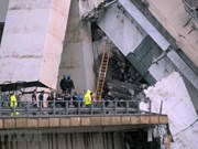 Condolences extended to Italy over Genoa bridge collapse