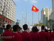 Vietnamese flag flies at ASIAD 18