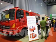 Advanced fire fighting, security technologies on display in HCM City