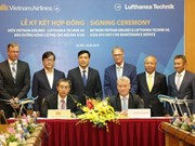 German firm to provide technical support for Vietnam Airlines' fleet