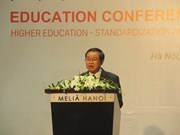 Tertiary education's role in int'l integration highlighted