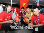 Vietnamese students shine at int'l robotics competition