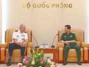 Vietnam, US step up defence cooperation