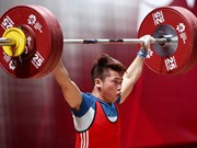 Weightlifter Trinh Van Vinh wins silver at ASIAD