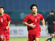 Vietnam beat Bahrain 1-0, entering ASIAD quarter-finals