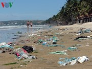 Binh Thuan authorities order clean-up of Phan Thiet beach