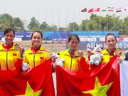 ASIAD 2018: Rowers win first gold medal for Vietnam
