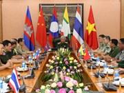 Deputy Defence Minister welcomes delegates to border exchange