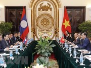 Vietnam, Laos hold third political consultation in Hanoi