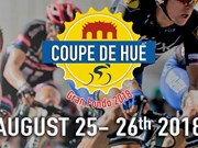Hue city hosts int'l cycling tournament Coupe De Hue