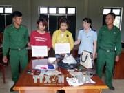 Women arrested for trafficking drug through Vietnam-Laos border gate