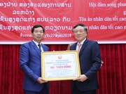 Vietnam-Laos court cooperation increasingly substantive: chief judges