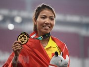 Vietnamese athlete rewarded after winning gold medal