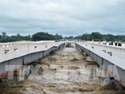 Dam breakage causes serious flooding in Myanmar