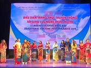 ASEAN traditional costumes, art performed in Hanoi