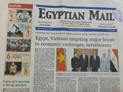 Egyptian media highlight Vietnamese President's State visit