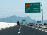 Da Nang-Quang Ngai expressway to be inaugurated on National Day
