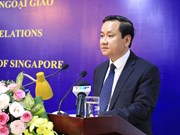 Hai Phong marks Vietnam-Singapore diplomatic ties