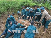 350kg bomb destroyed successfully in Yen Bai