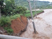 Northern localities heavily suffered from floods, landslides