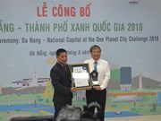 Da Nang proud to be Vietnam's green city of the year