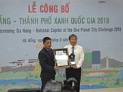 Da Nang proud to be Vietnam's green city of the year