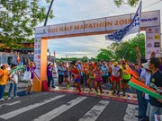 Over 1,500 runners join Hue Half Marathon 2018