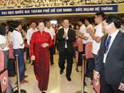 Top legislator stresses greater autonomy for universities