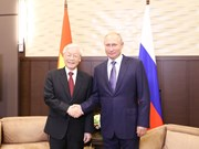 Russia an important, reliable partner of Vietnam: Party leader