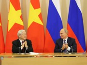 Party leader affirms continuously consolidated VN-Russia relationship