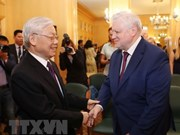 Party leader meets with Chairman of A Just Russia party