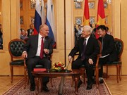Russia a top priority in Vietnam's foreign policy: Party leader