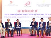 Vietnam, Japan share experience in local administration