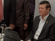 Cambodia frees leader of opposition party Kem Sokha