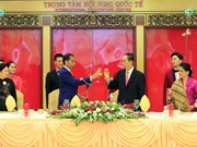 Banquet hosted in honour of Indonesian President Widodo