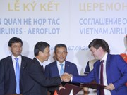 Vietnamese airlines bolster international cooperation