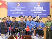 Dien Bien, northern Lao provinces enhance youth exchanges