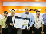 Operational Safety Audit certificate renewed for Jetstar Pacific