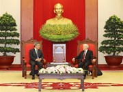 Party leader receives Chinese Vice Premier
