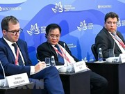 Vietnamese lawyer talks about jurisdiction at EEF in Russia