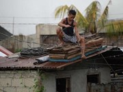 Super Typhoon Mangkhut makes landfall in Philippines
