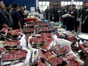 Malaysia seizes drugs worth 17.5 million USD