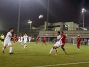 Vietnam loses to Qatar in U19 friendly tournament