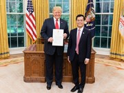 US President appreciates development of Vietnam-US ties
