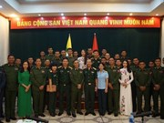 Vietnam, Myanmar young army officers foster exchange