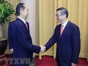 President hosts Chinese Chief Justice